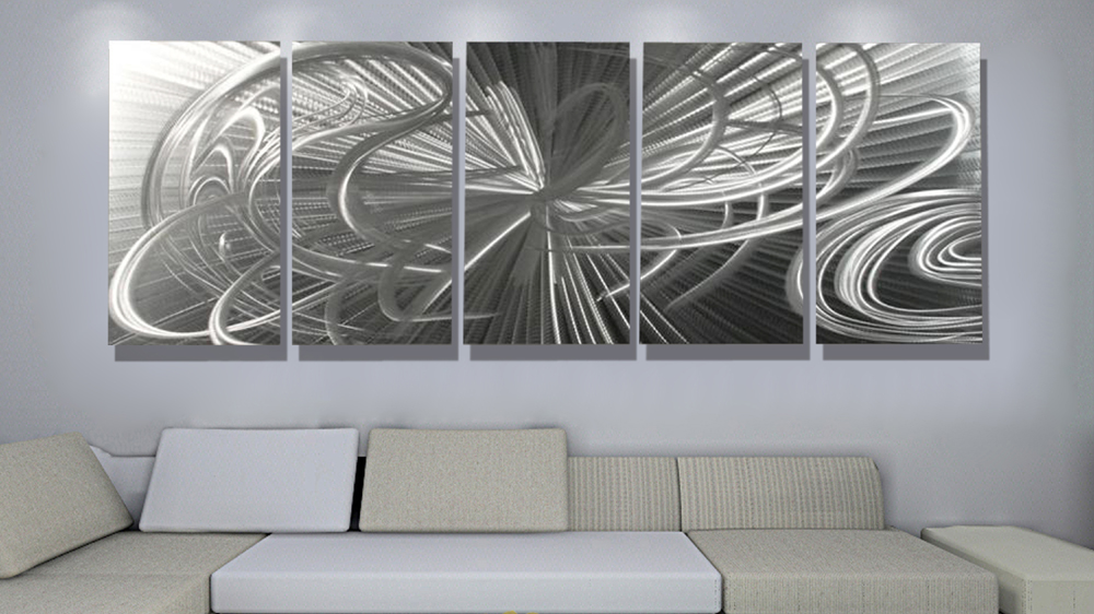 Modern Metal Wall Decor Picture
