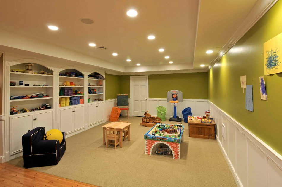 Old Basement Remodel Wall Paint