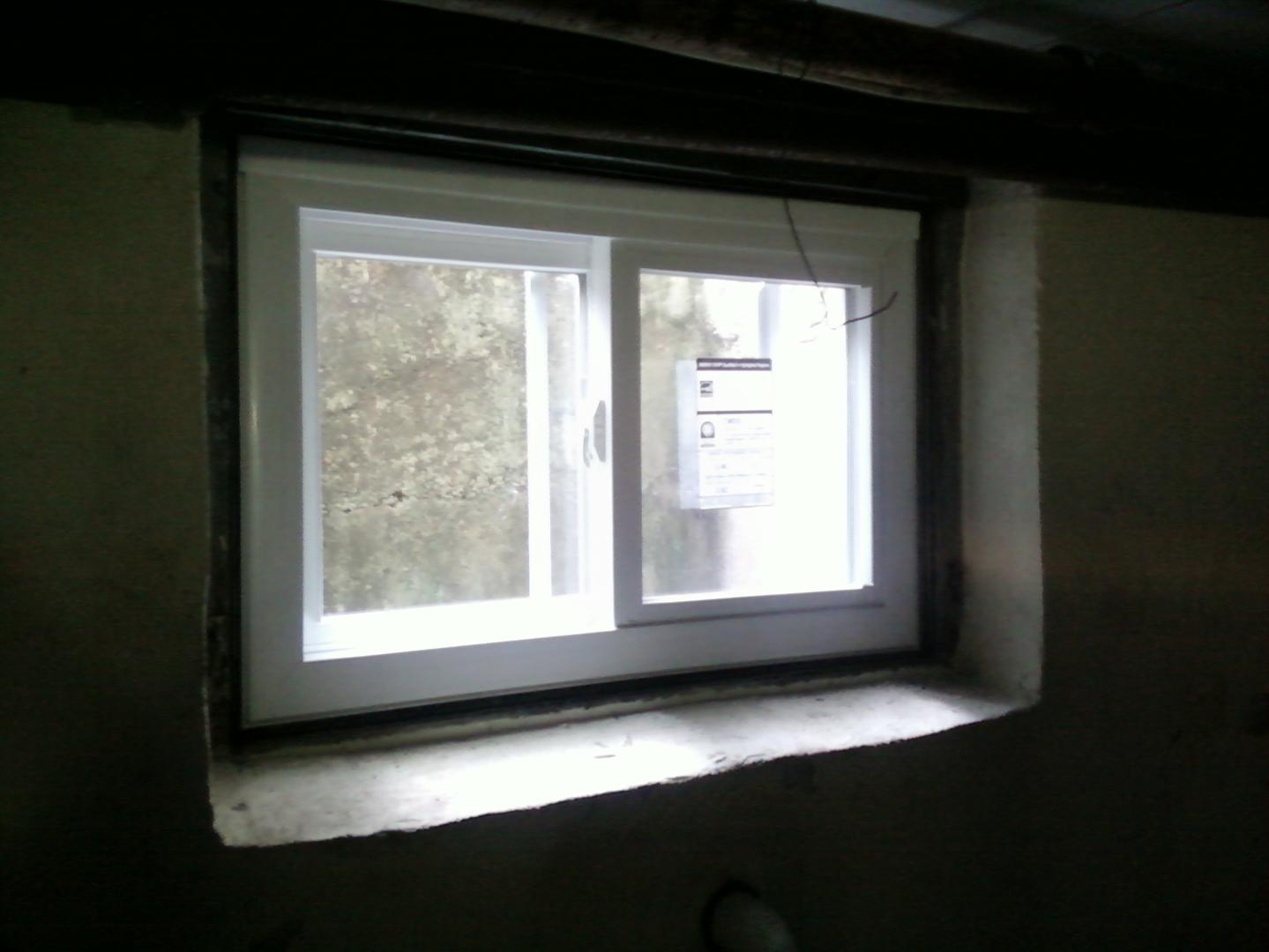 Old Sliding Basement Windows