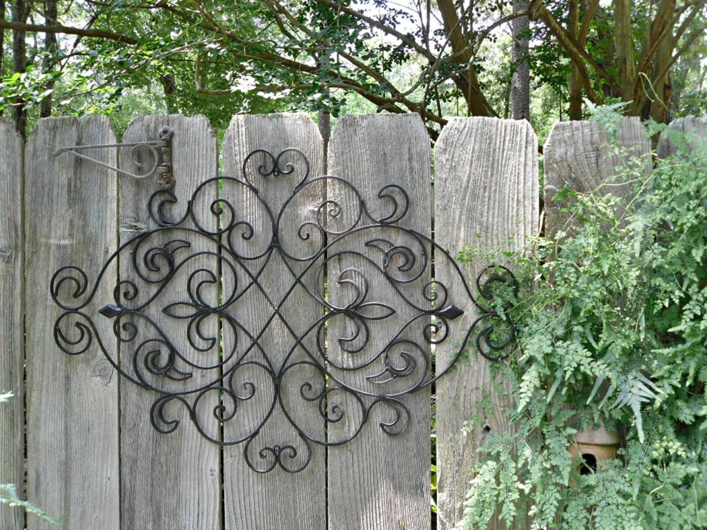 Outdoor Iron Wall Decor And MoreOutdoor Iron Wall Decor And More