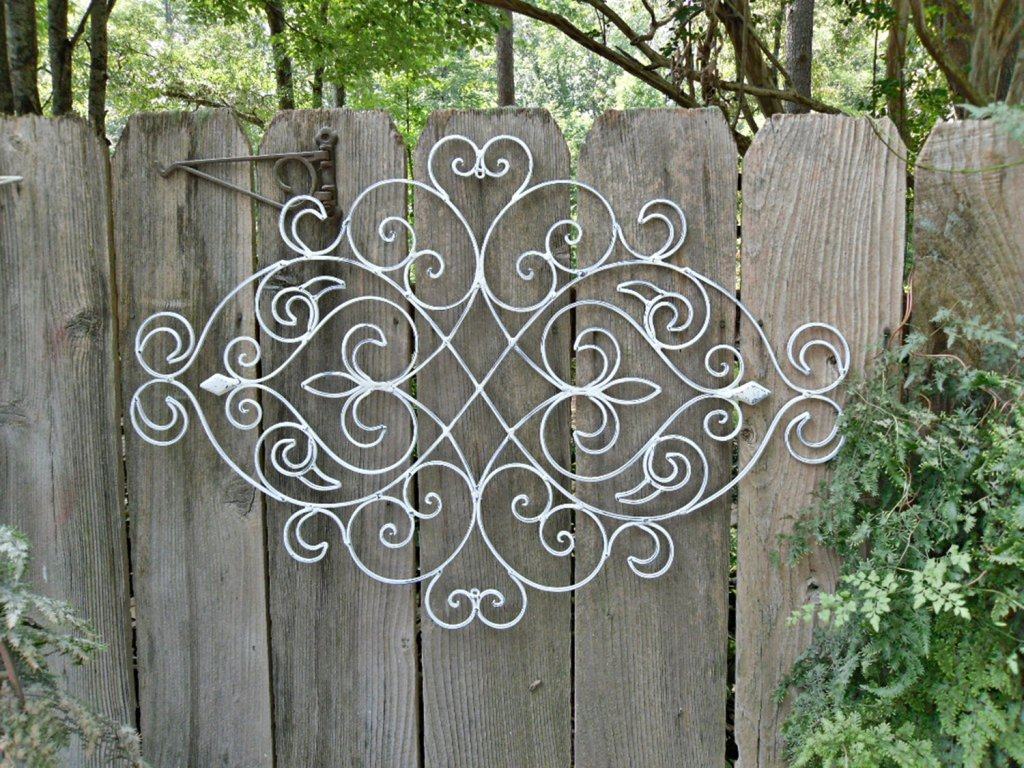 Image of: Outdoor Iron Wall Decor Blogs