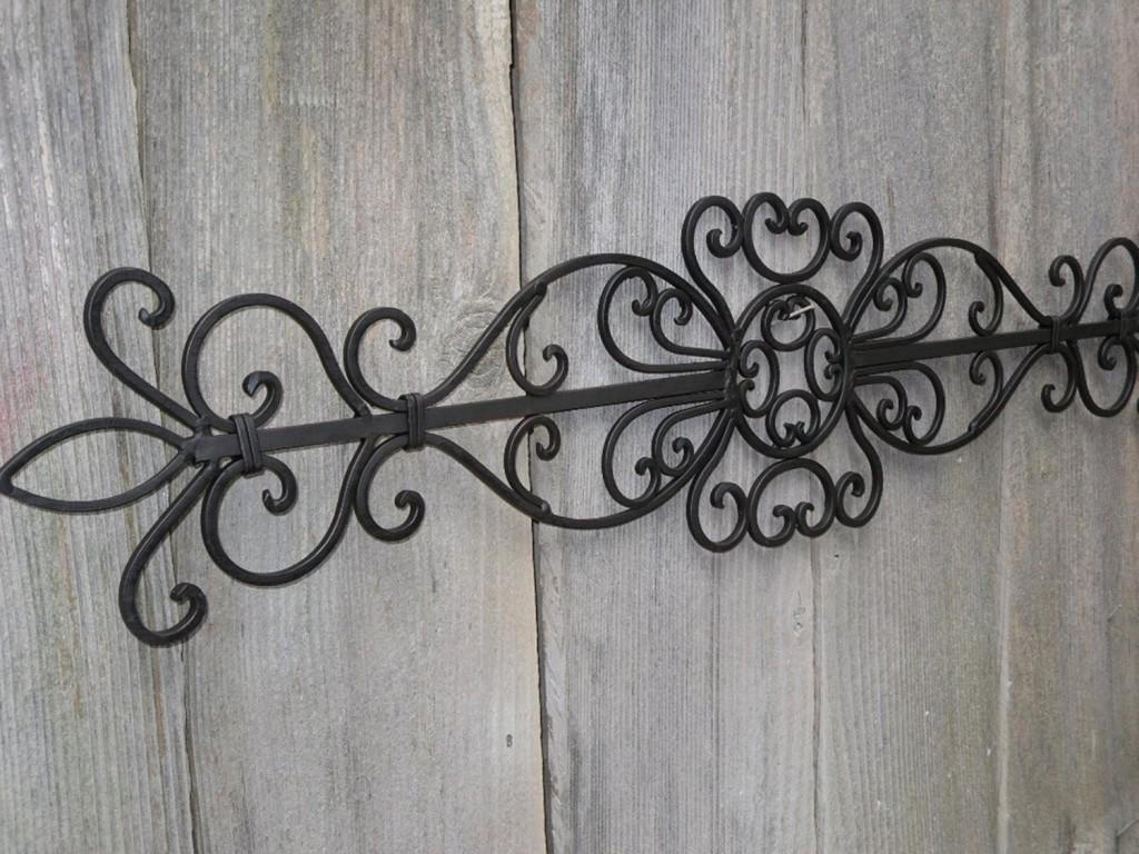 Outdoor Iron Wall Decor Boating
