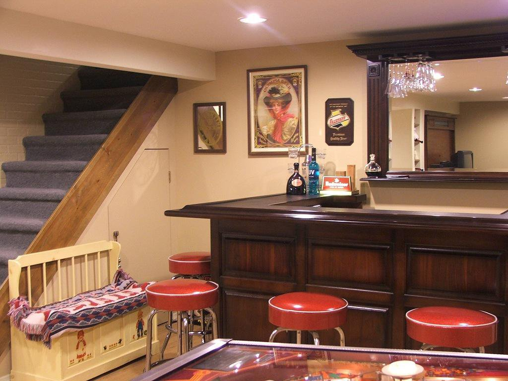 Perfect Basement Interior Design