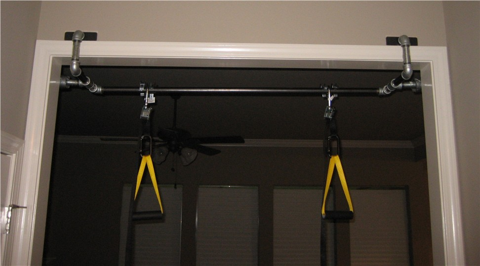 Perfect Basement Pull Up Bar