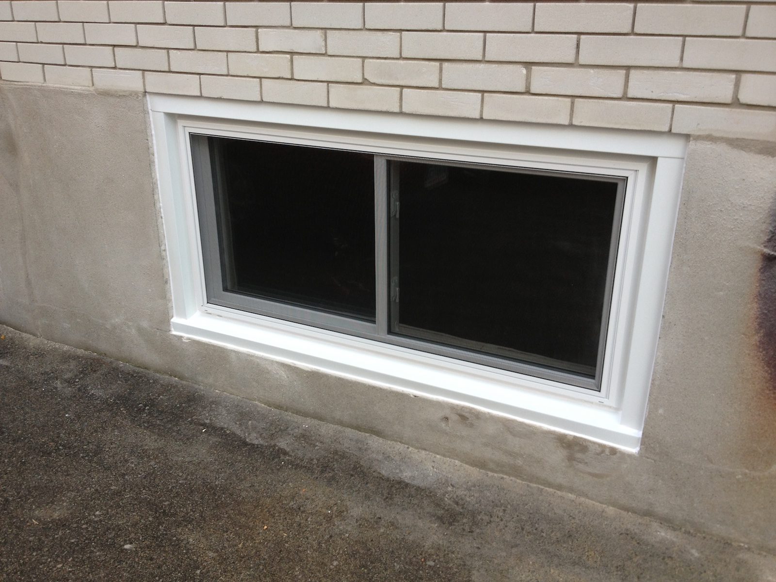 Picture Sliding Basement Windows