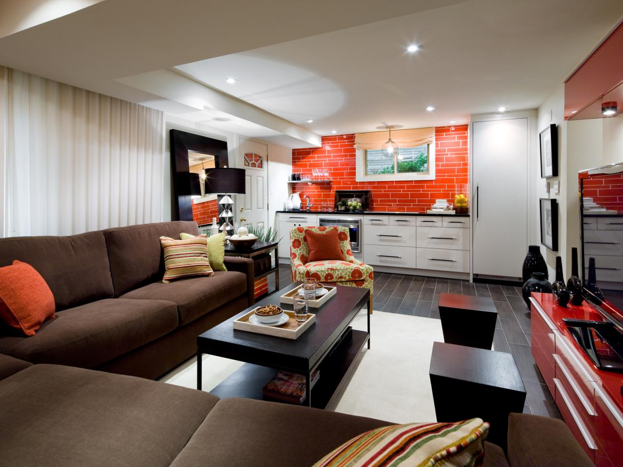 Popular Basement Interior Design