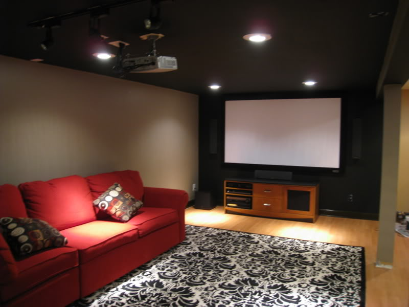 Image of: Popular Low Basement Ceiling Ideas