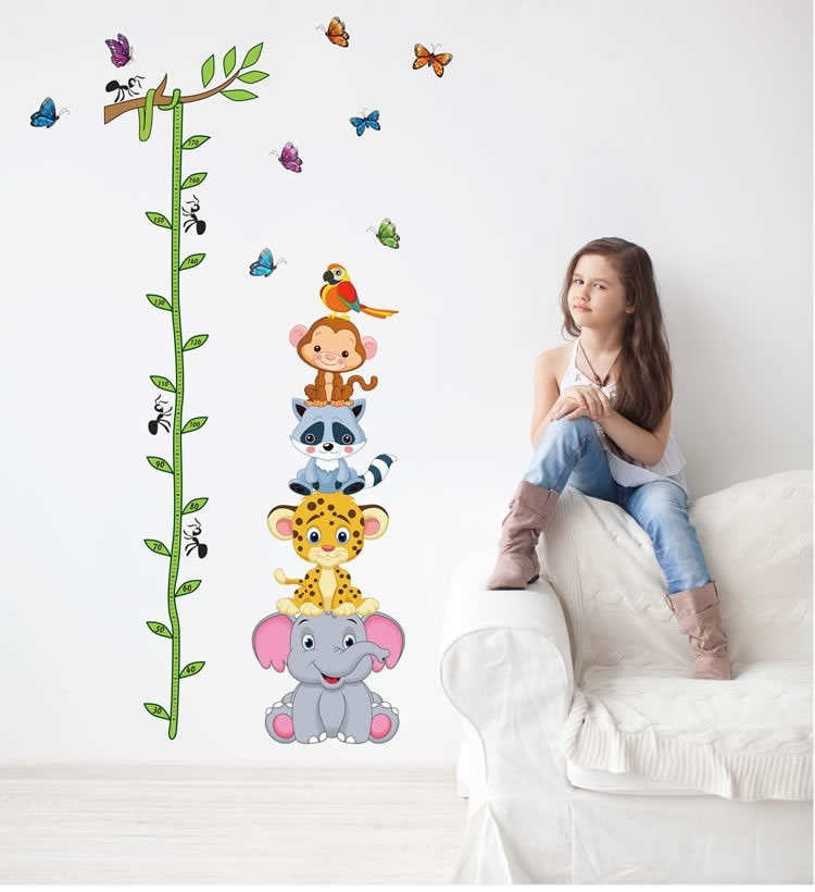 Image of: Popular Wall Stickers Decor Modern