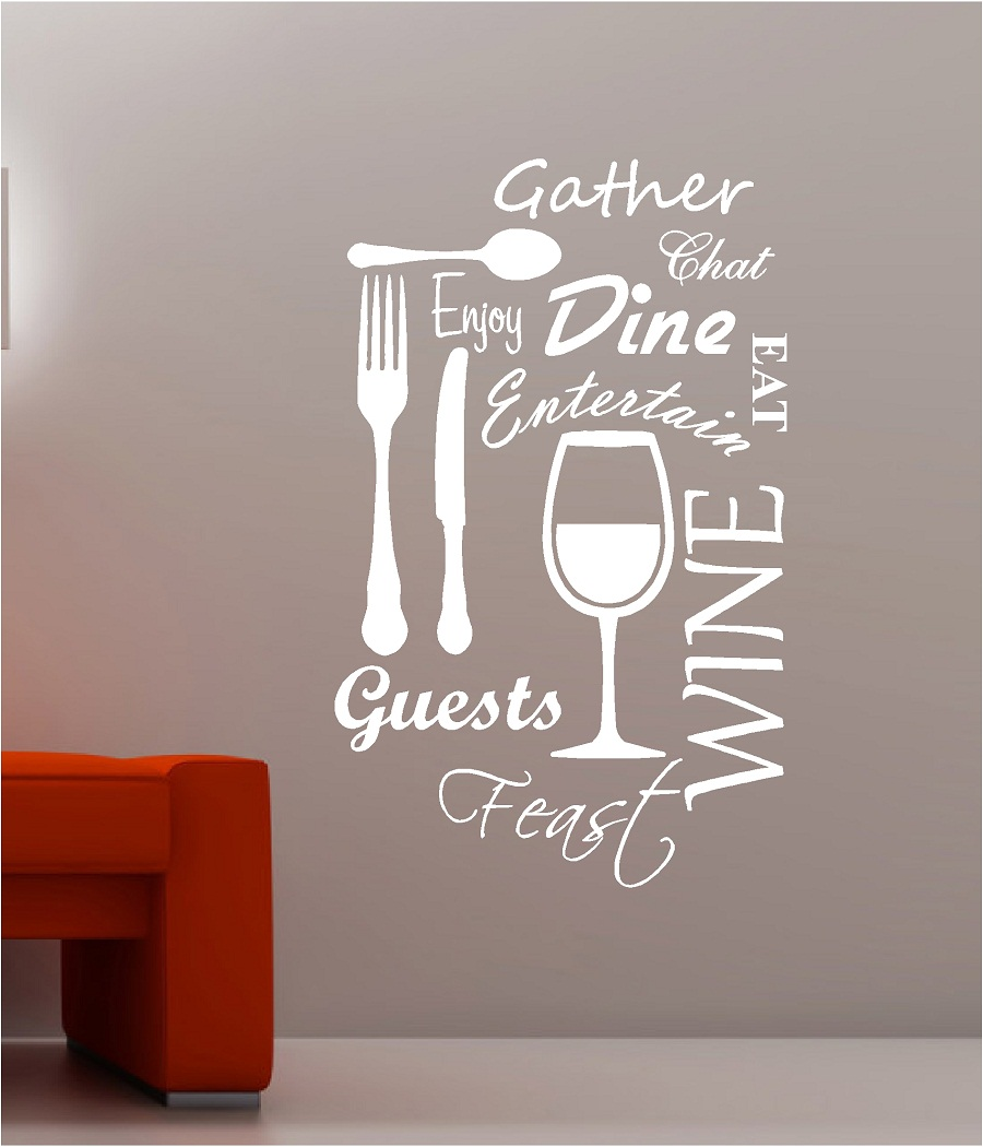 Picture of: Quotes Kitchen Wall Art Decor