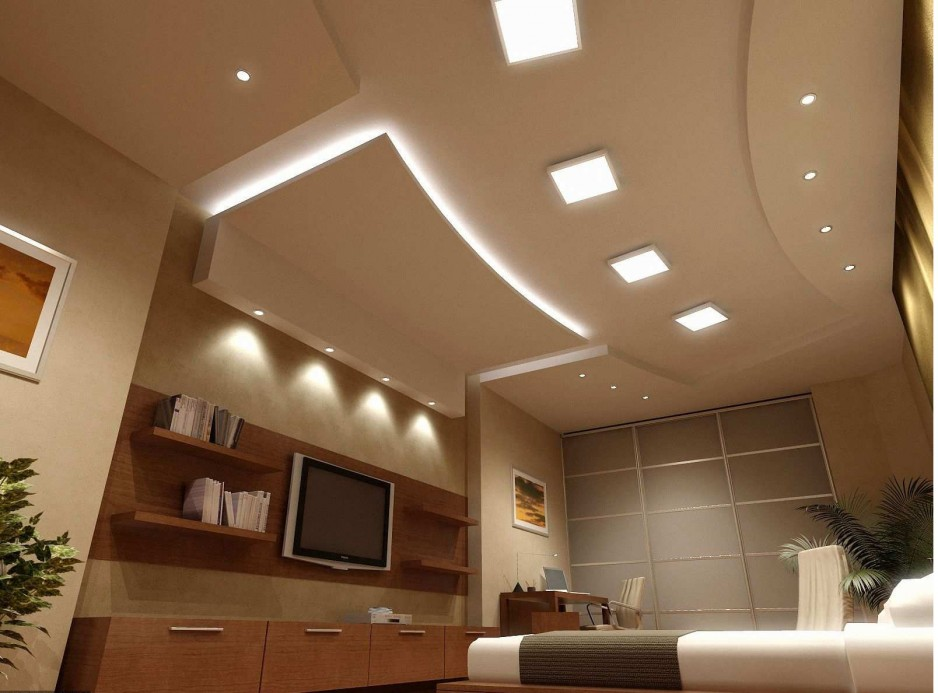 Picture of: Recessed Basement Ceiling Light Fixtures
