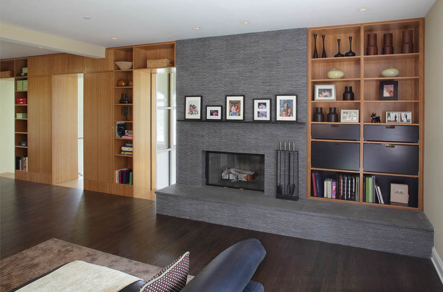 Image of: Remodel Basement Walls Accent