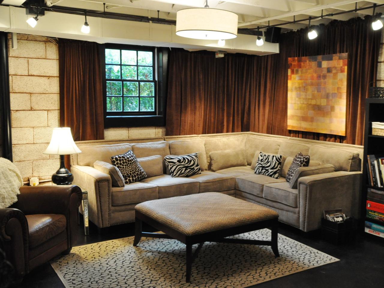 Image of: Remodel Basement Walls Amazing