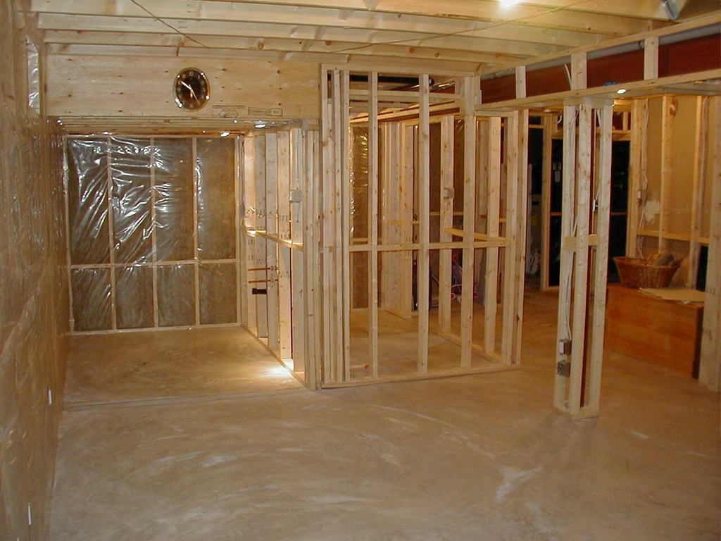 Image of: Remodel Basement Walls Plans