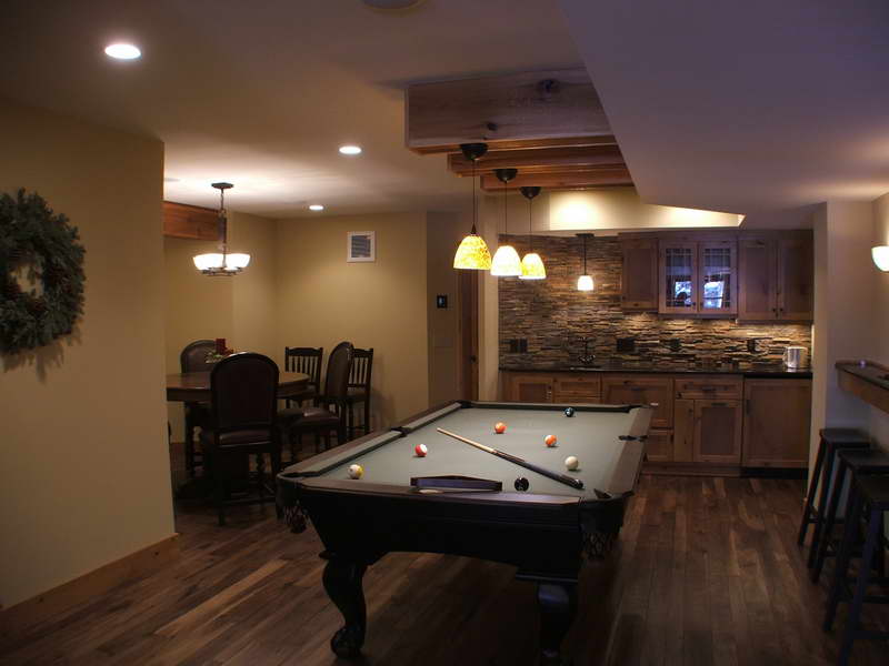Image of: Remodel Basement Walls Stone