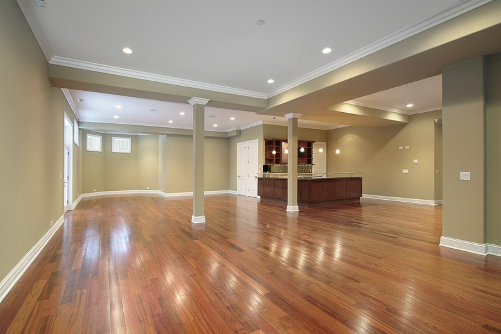 Image of: Remodeling Basement Ideas Bar