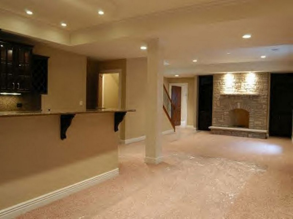 Image of: Remodeling Basement Ideas Stairs
