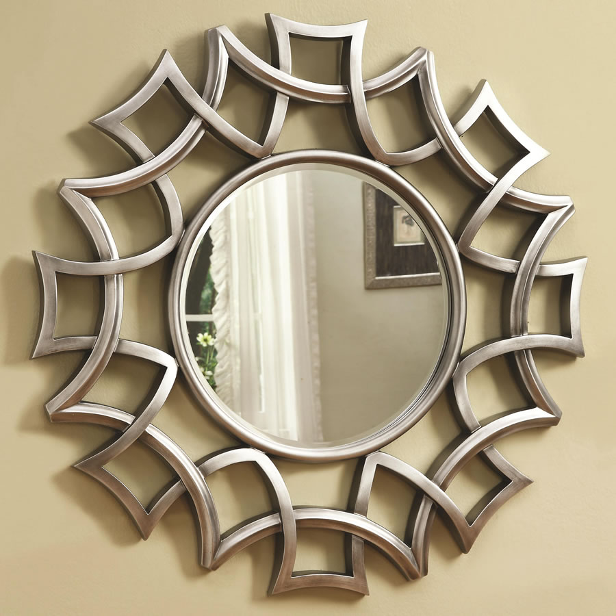 Round Decorative Wall Mirrors For Living Room