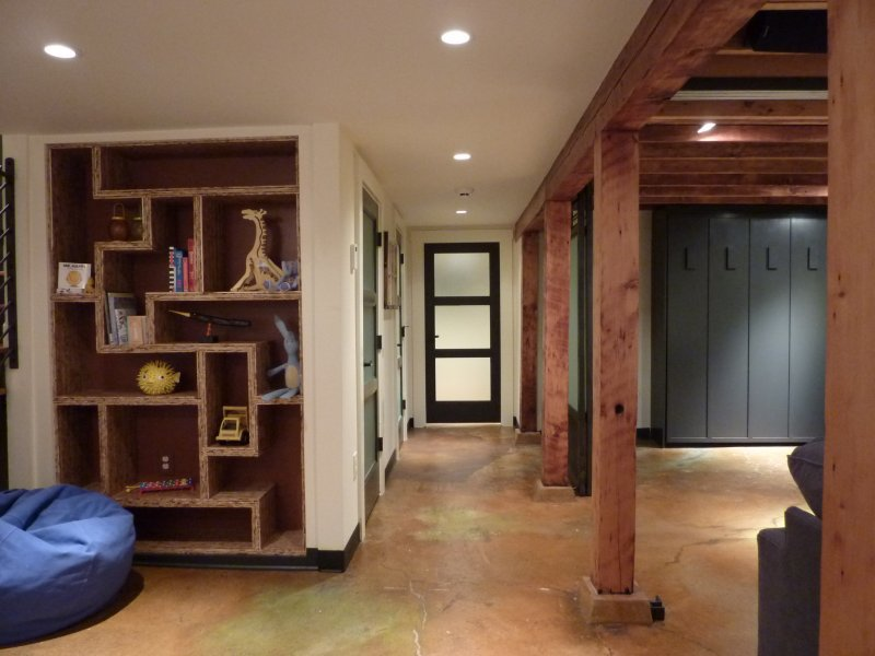Image of: Seattle Small Basement Remodel