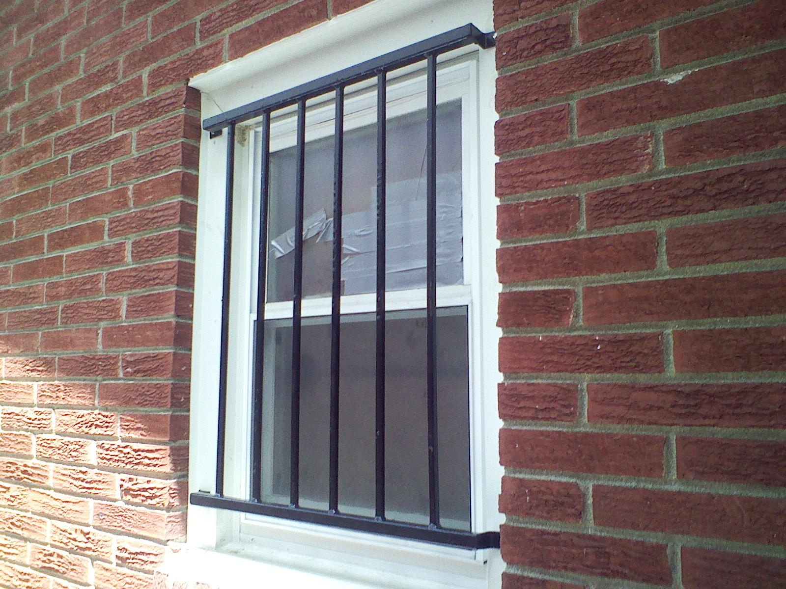 Picture of: Simple Basement Window Security Bars