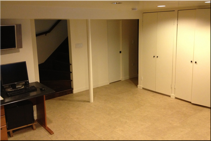 Simple Old Basement Remodel