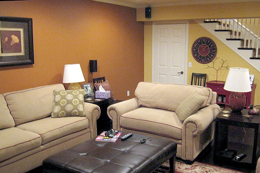 Image of: Simple Small Basement Remodel