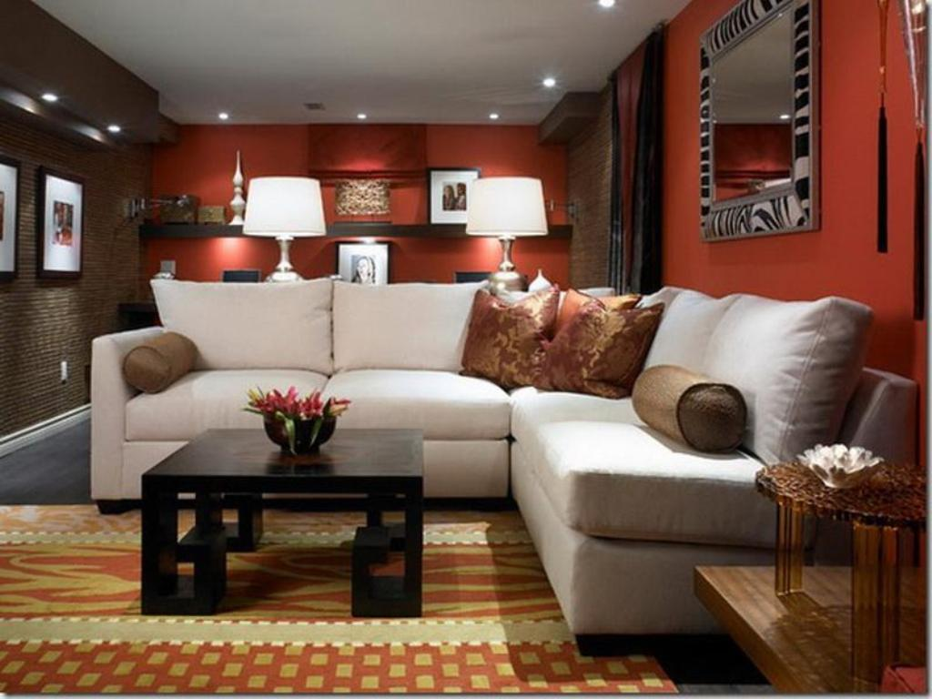 Small Basement Ideas Pictures Color