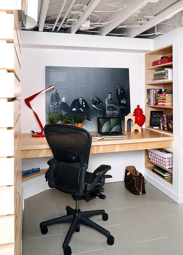 Small Basement Office Ideas Amazing