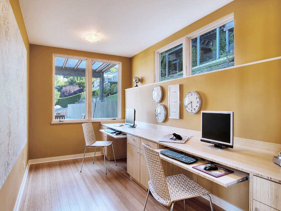 Small Basement Office Ideas Cover
