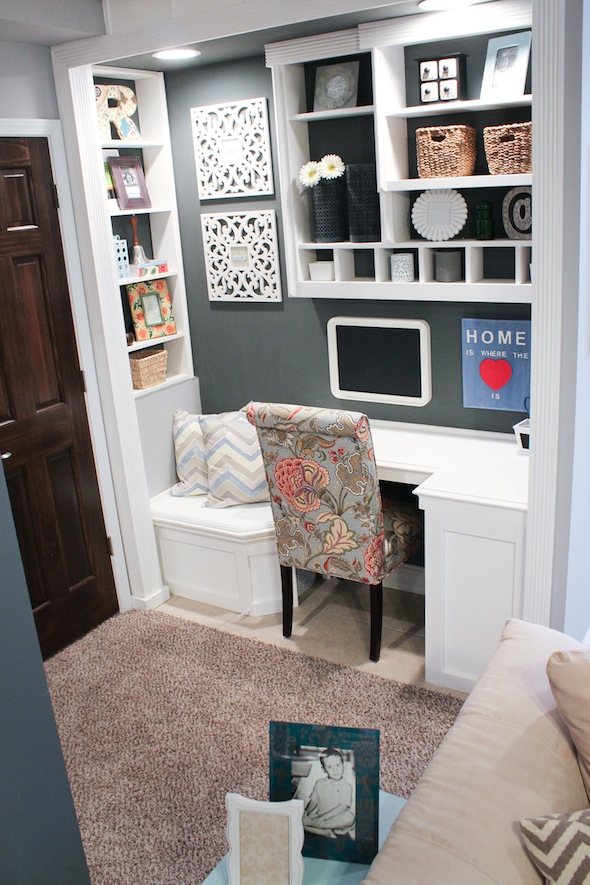Small Basement Office Ideas Vintage