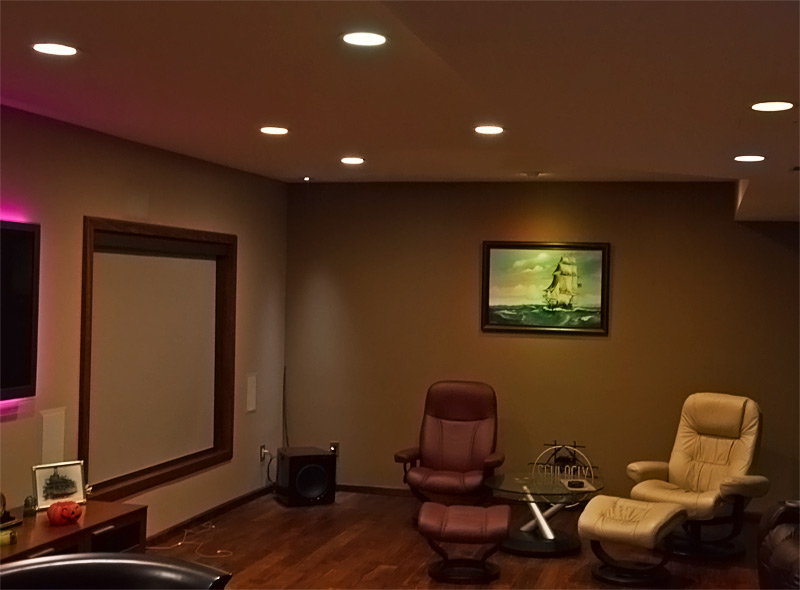 Small Basement Recessed Lighting