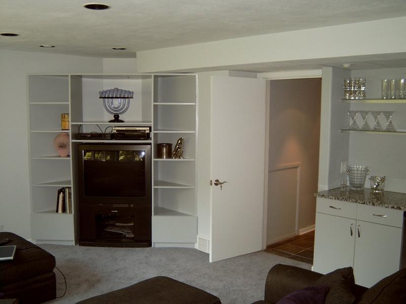 Small Basement Remodeling Ideas Storage