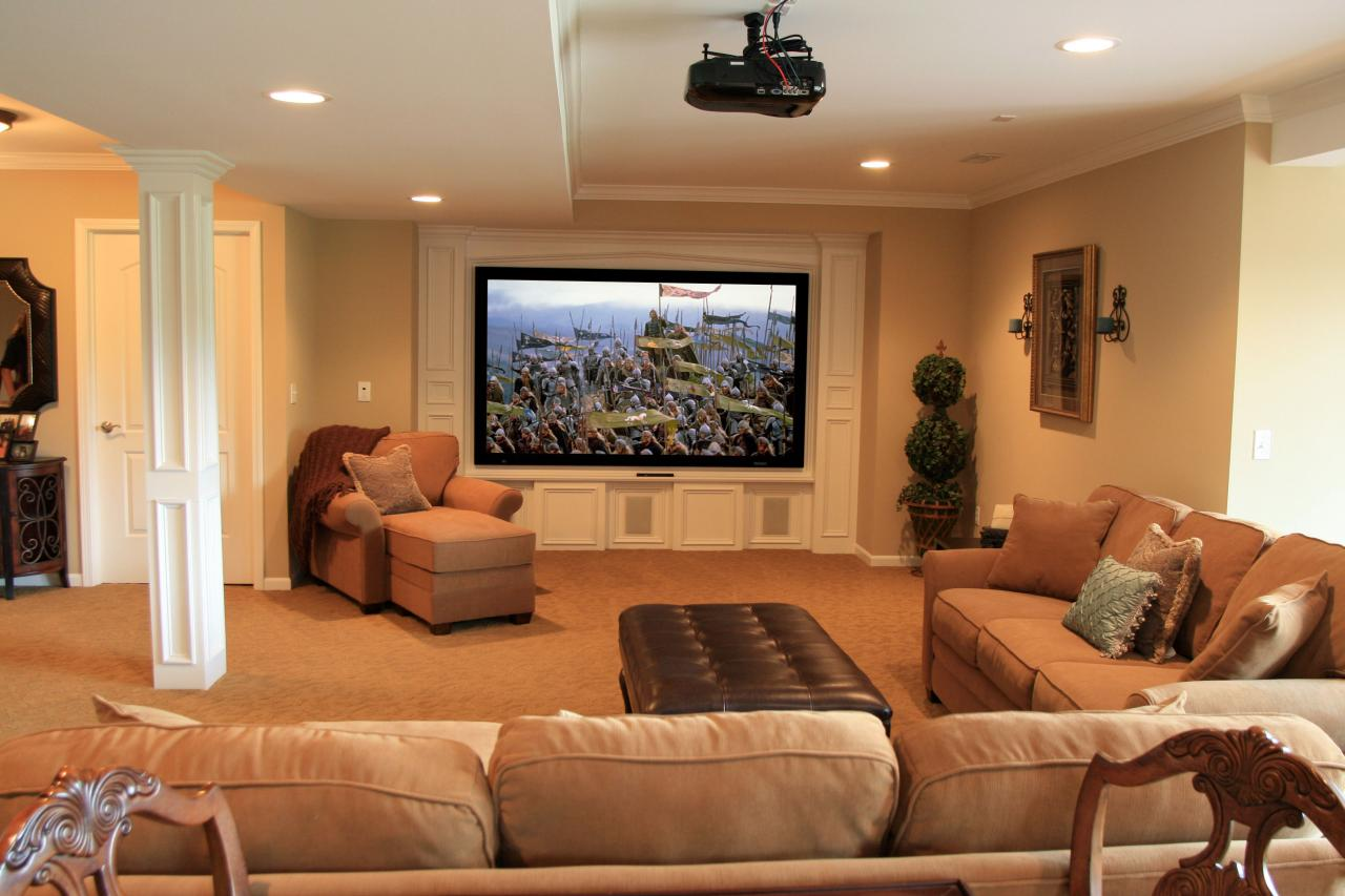 Small Basement Room Ideas Family Room