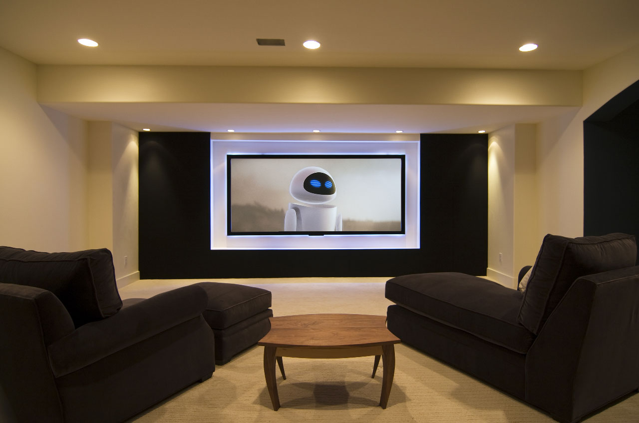 Image of: Small Basement Room Ideas Game Room