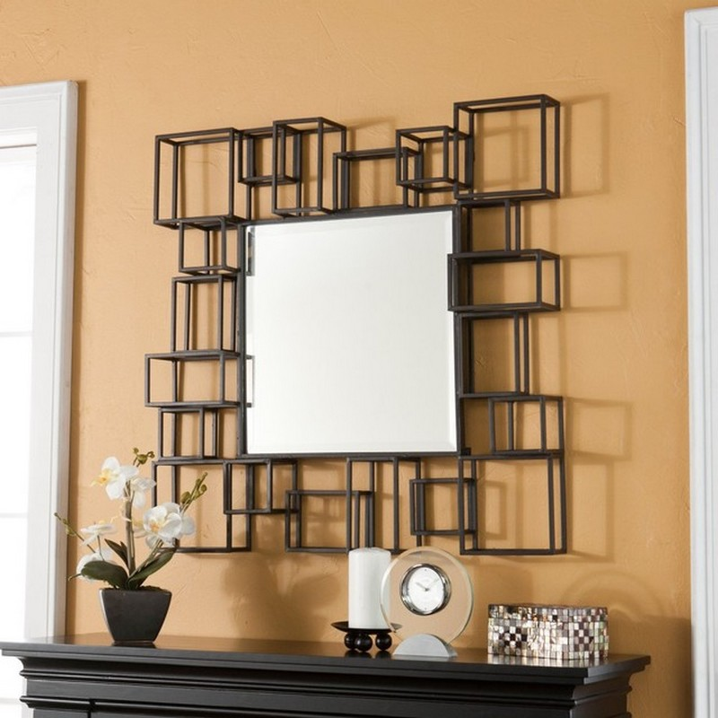 Square Small Decorative Wall Mirrors