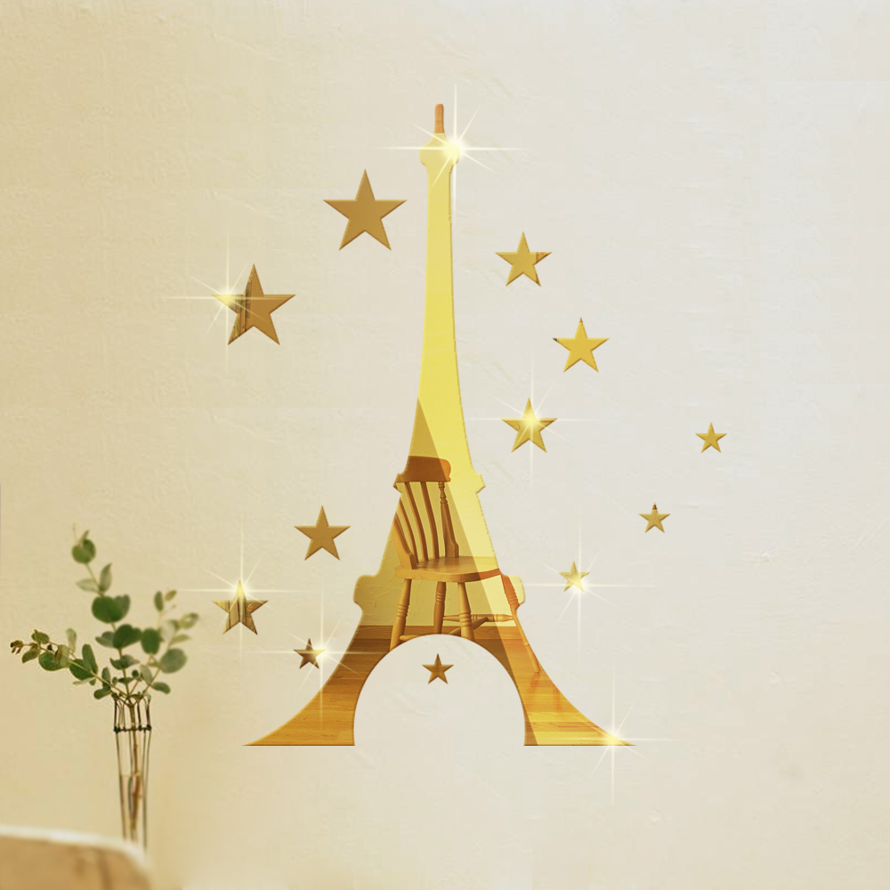 Picture of: Star Mirror Wall Decor Art