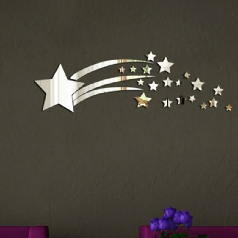 Image of: Star Mirror Wall Decor Awesome
