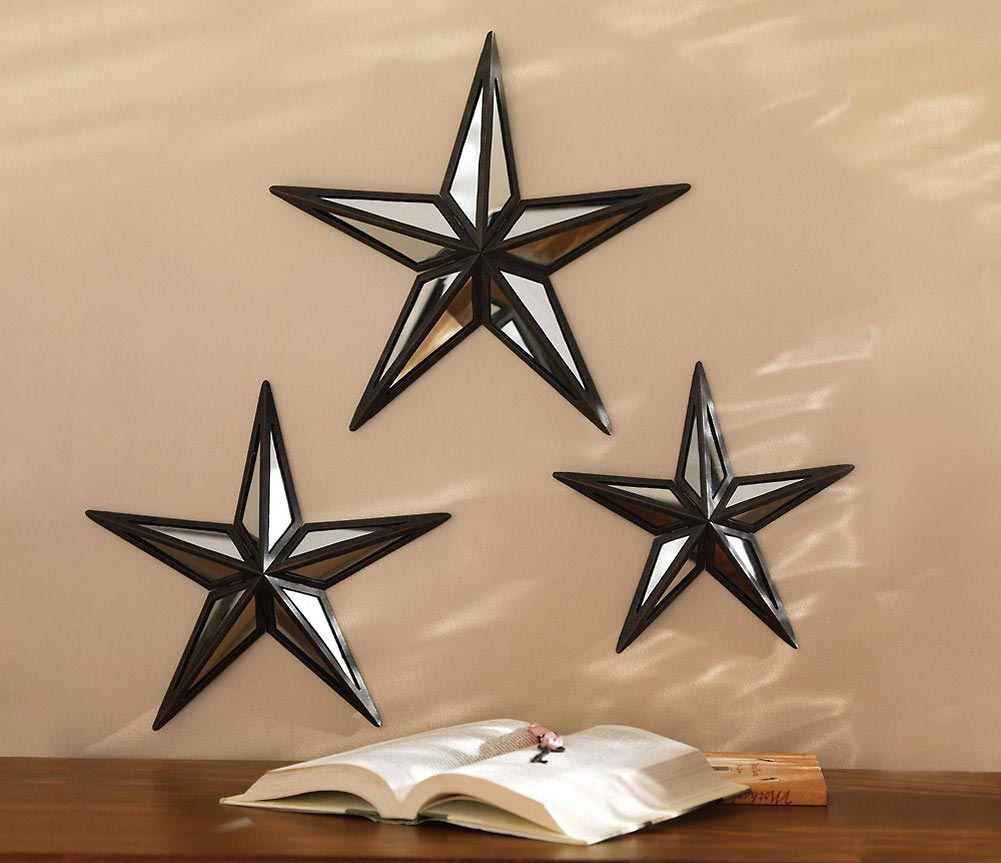 Image of: Star Mirror Wall Decor Best