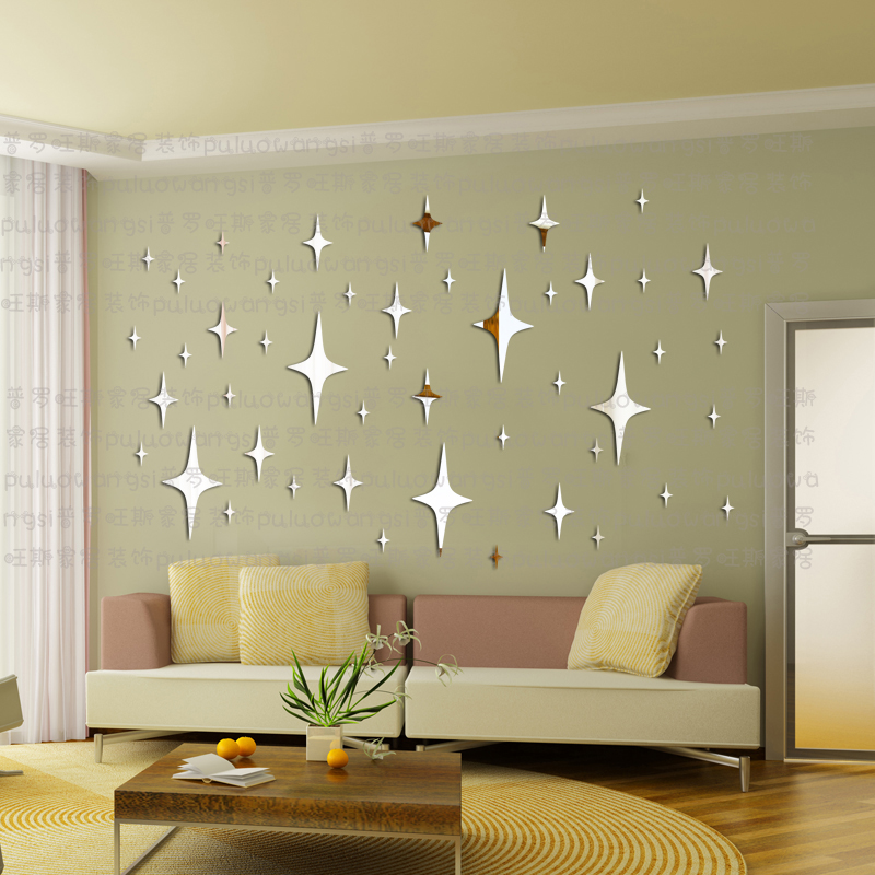 Image of: Star Mirror Wall Decor Popular