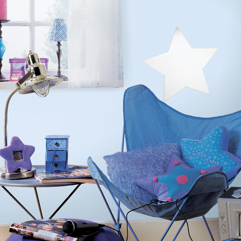 Image of: Star Mirror Wall Decor Room