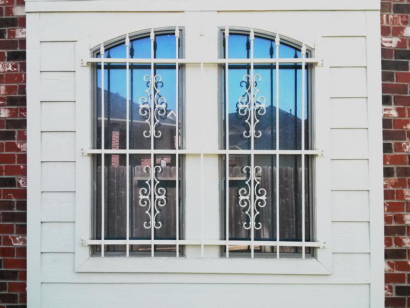 Picture of: Stylish Basement Window Security Bars