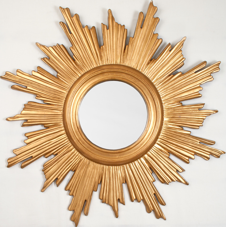 Image of: Sun Mirror Wall Decor Awesome