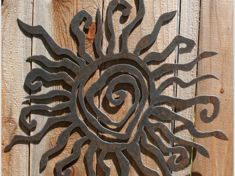 Top Large Iron Wall Decor
