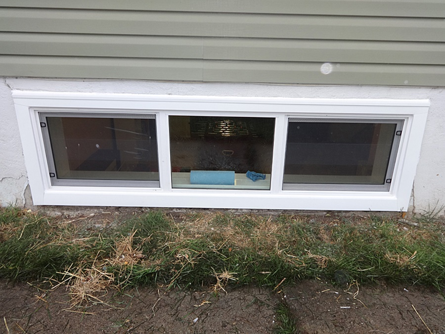 Top Sliding Basement Windows