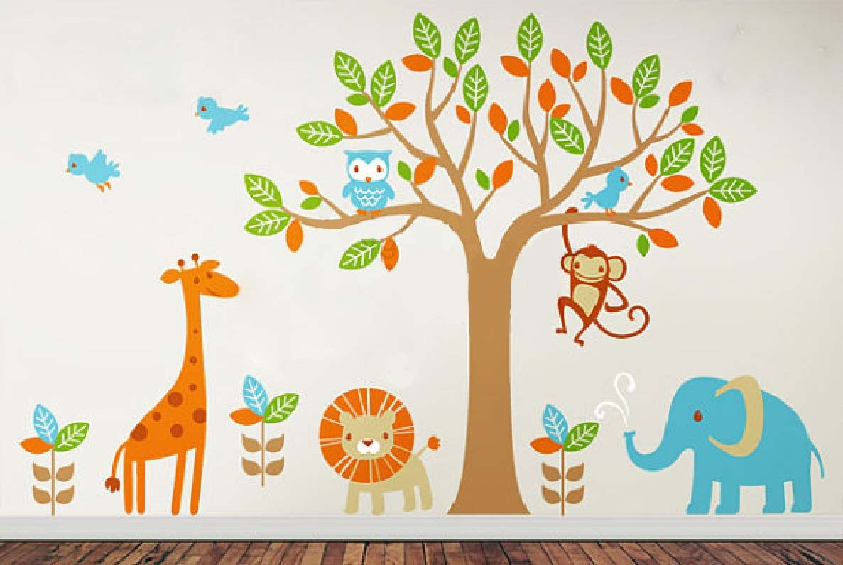 Power Wall Stickers Decor Modern