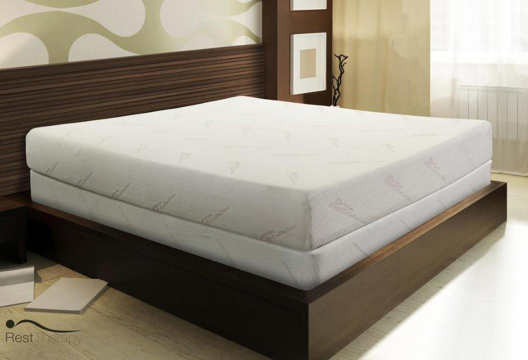 Image of: Twin Memory Foam Mattress and Frame
