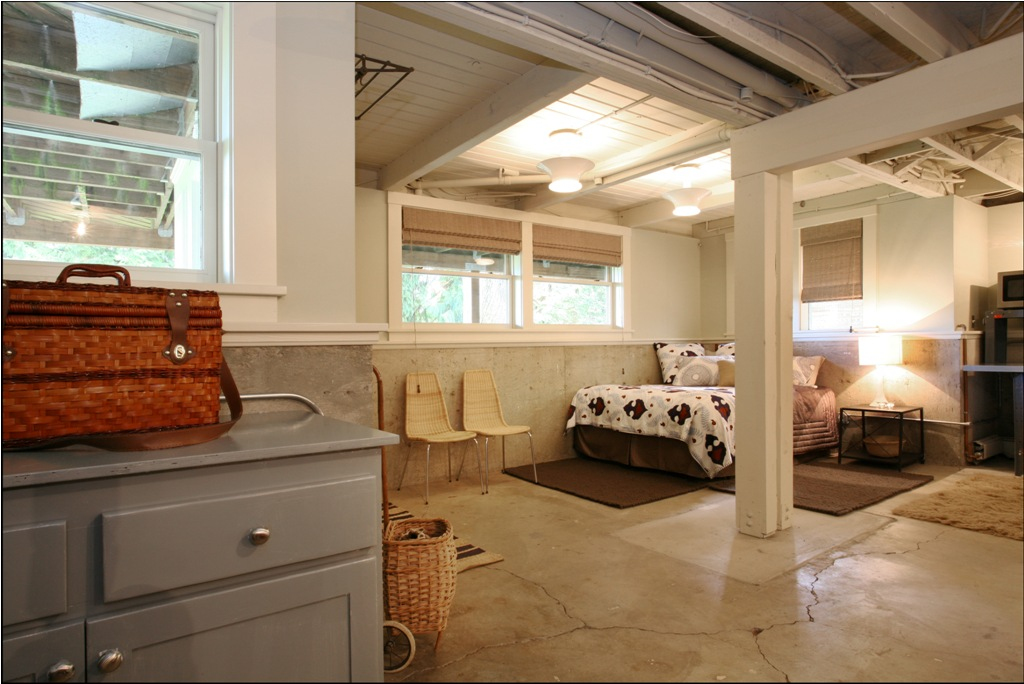 Picture of: Unfinished Basement Ceiling Ideas Design