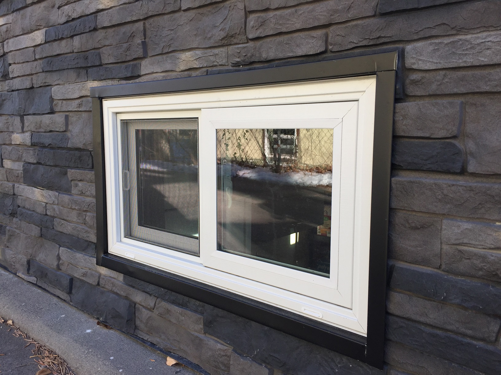 Make Vinyl Sliding Basement Windows Easier