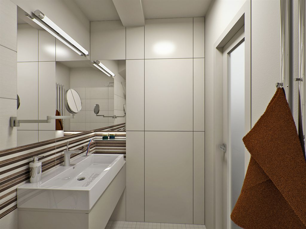 Picture of: Wall Basement Bathroom Designs