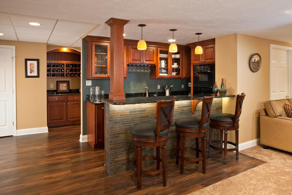 Planning Wet Bar Ideas For Basement
