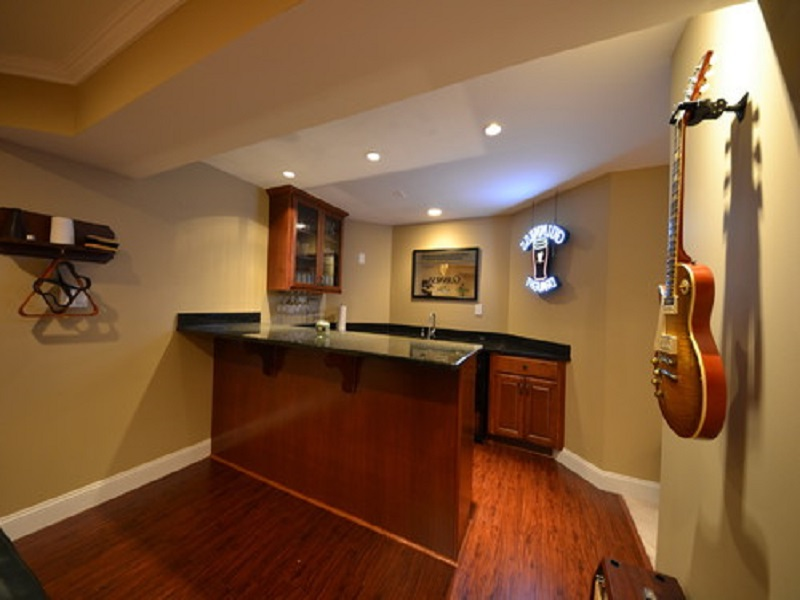 Picture of: Wet Bar Ideas For Basement Finished